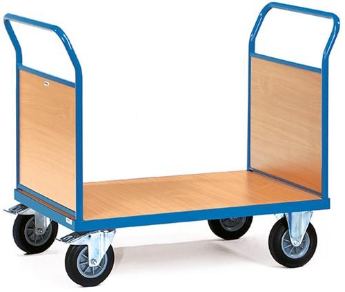 Platformwagen met 2 gesloten duwbeugels 2521 Laadvlak 1.000 x 600 mm