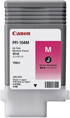 Inktcartridge Canon PFI-104 foto rood
