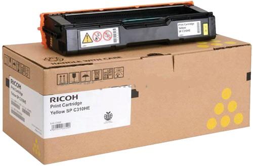 Tonercartridge Ricoh 406351 geel