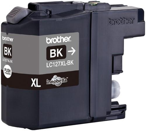 Inktcartridge Brother LC-127XLBK zwart HC