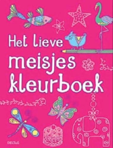 Kleurboek Deltas het lieve meisje