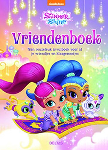 Vriendenboek Deltas Shimmer & Shine